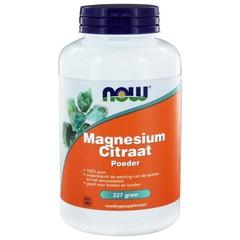 NOW Magnesium citraat poeder (227 gram)