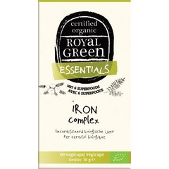 Royal Green Iron complex (60 vcaps)
