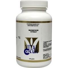 Vital Cell Life Magnesium citraat 80 mg poeder (100 gram)