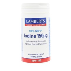 Lamberts Jodium 150 mcg (180 tabletten)