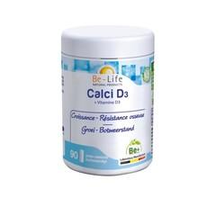 Be-Life Calci D3 + vitamine D3 (90 capsules)