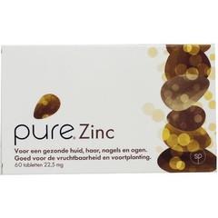 Pure zink (60 tabletten)
