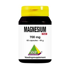 SNP Magnesium 700 mg puur (60 capsules)