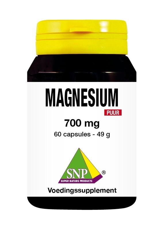 SNP SNP Magnesium 700 mg puur (60 capsules)