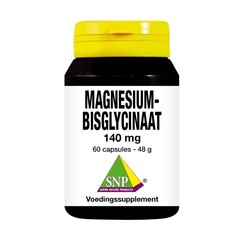SNP Magnesium bisglycinaat 140 mg (60 capsules)