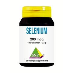 SNP Selenium 200 mcg (100 tabletten)