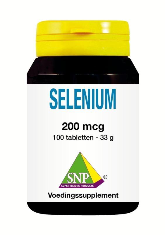 SNP SNP Selenium 200 mcg (100 tabletten)