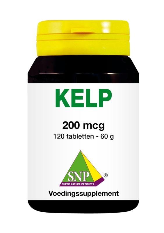SNP SNP Kelp 200 mcg (120 tabletten)