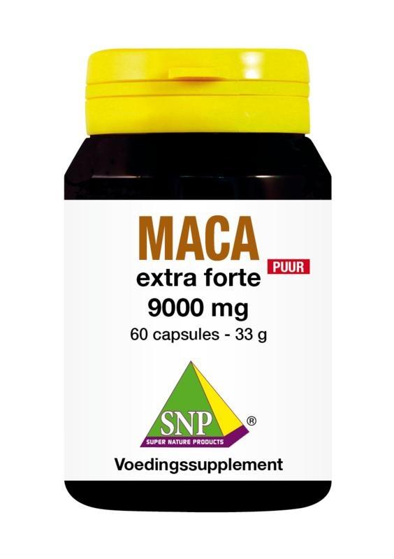 SNP SNP Maca extra forte 9000 mg puur (60 capsules)