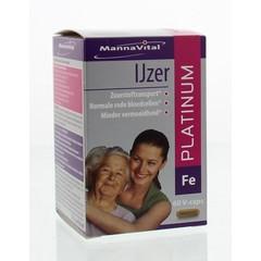 Mannavital IJzer platinum (60 capsules)