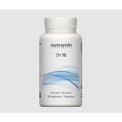 Nutramin NTM ZN 15 (90 tabletten)