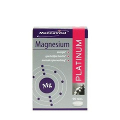 Mannavital Magnesium platinum (90 tabletten)