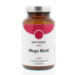 Best Choice Mega multi (30 tabletten)