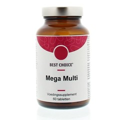 Best Choice Mega multi (60 tabletten)