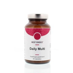 Best Choice Daily multi vitamine mineralen complex (60 tabletten)