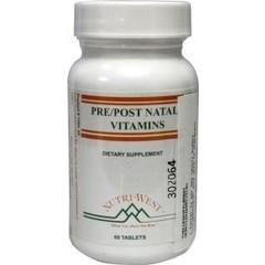 Nutri West Pre post natal vitamins (60 tabletten)