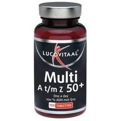 Lucovitaal Multi A t/m Z 50+ (100 tabletten)