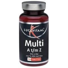 Lucovitaal Multi A t/m Z +Q10 (100 tabletten)