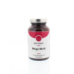 Best Choice Mega multi (90 tabletten)