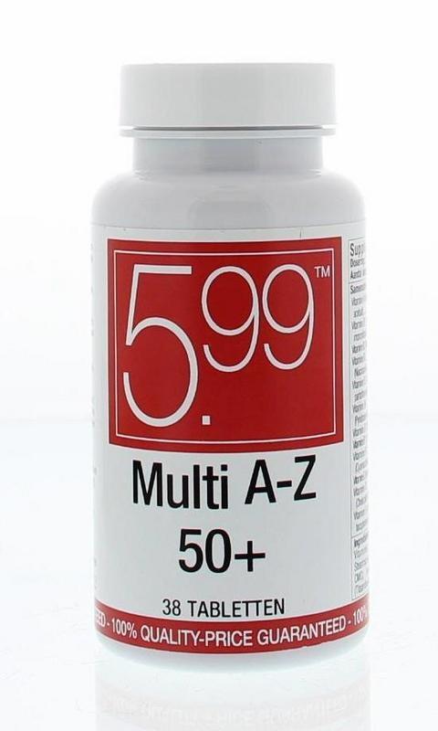 5.99 5.99 Multi A-Z 50+ (38 tabletten)