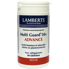 Lamberts Multi-guard 50+ advance (60 tabletten)