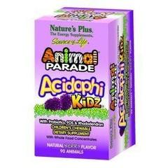 Natures Plus Animal parade acidophilus kidz (90 kauwtabletten)