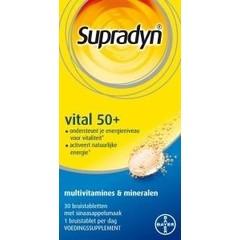 Supradyn Vital 50+ (30 bruistabletten)