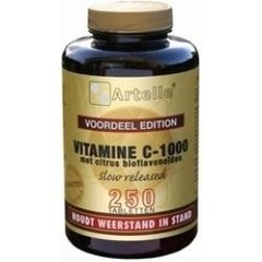 Artelle Vitamine C 1000 mg bioflavonoiden (250 tabletten)