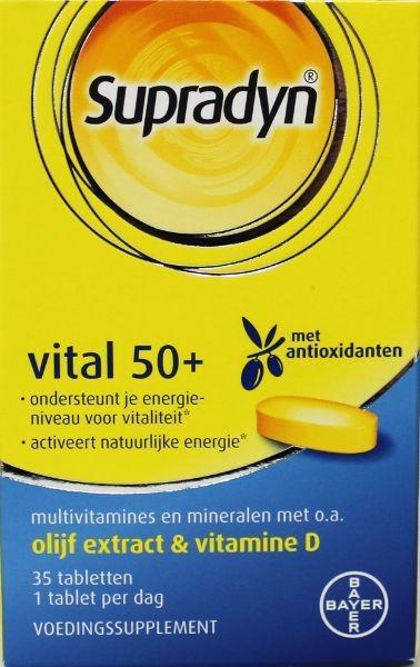 Supradyn Vital 50+ (35 tabletten)