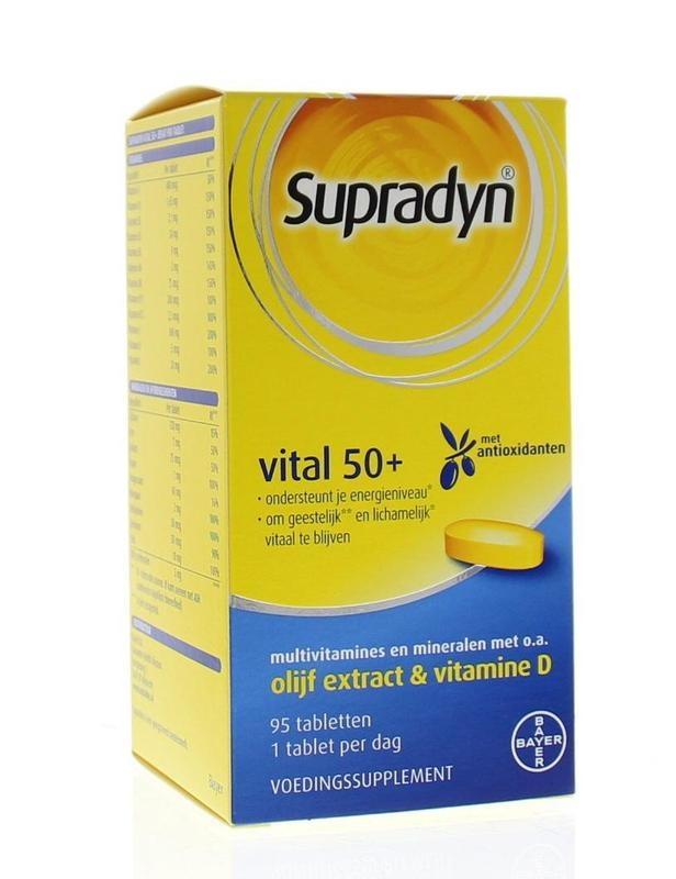 Supradyn Vital 50+ (95 tabletten)