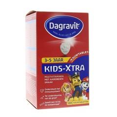Dagravit Multi kids aardbei 3-5 jaar (120 kauwtabletten)