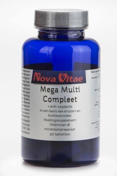 Nova Vitae Mega multi compleet (50 tabletten)