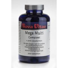 Nova Vitae Mega multi compleet (200 tabletten)