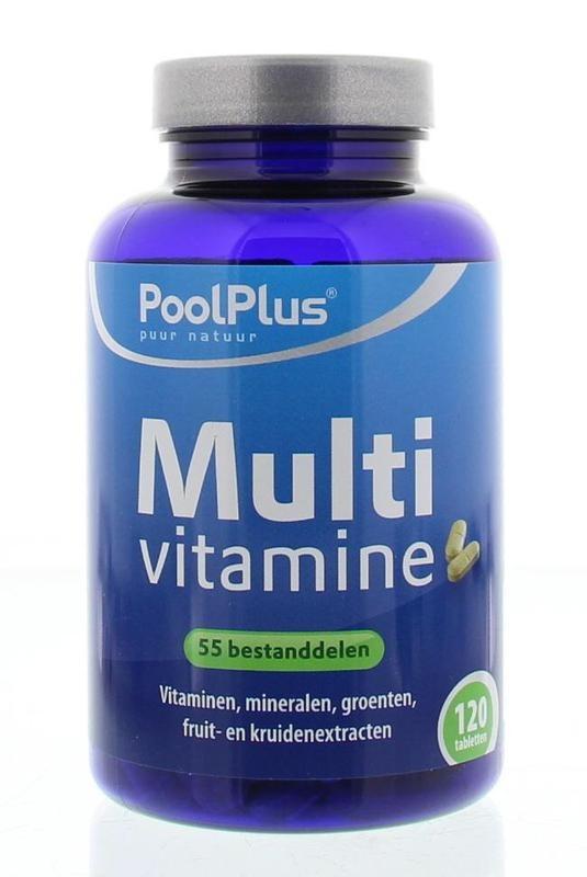 Pool Plus Multivitaminen tablet (120 tabletten)