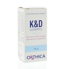 Orthica Vitamine K & D zuigeling (10 ml)