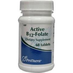 Klaire Labs Vitamine B12 folaat actief (60 tabletten)