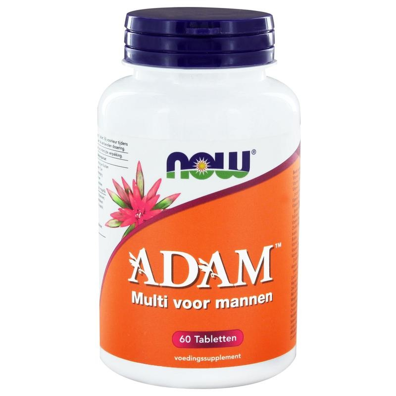 NOW Adam multivitamine voor mannen (60 tab)