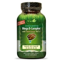Irwin Naturals Mega B complex (60 softgels)