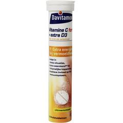 Davitamon Vitamine C & D3 bruistabletten (15 bruistabletten)