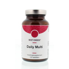 Best Choice Daily multi vitaminen mineralen complex (120 tabletten)