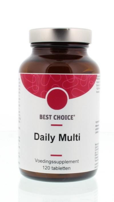 Best Choice Best Choice Daily multi vitaminen mineralen complex (120 tabletten)