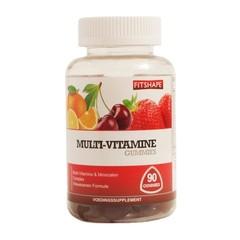 Fitshape Multi vitamine gummies (90 gummies)