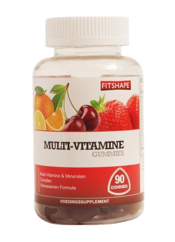 Fitshape Fitshape Multi vitamine gummies (90 gummies)