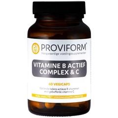 Proviform Vitamine B actief complex & C (60 vcaps)