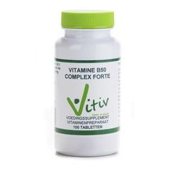 Vitiv Vitamine B50 complex (100 tabletten)