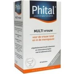 Phital Multi vrouw (60 tabletten)