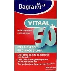 Dagravit Vitaal 50+ (100 tabletten)