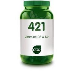 AOV 421 Vitamine D3 & K2 (60 vcaps)