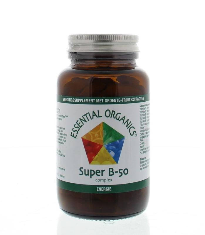 Essential Organ Essential Organ Super B50 complex (90 tabletten)