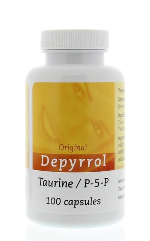 Depyrrol Depyrrol Taurine P5P 5 mg (100 capsules)